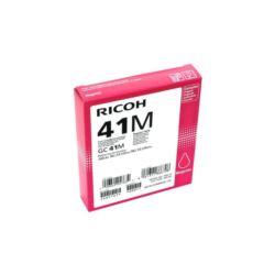 Tusz żelowy oryginał Ricoh GC-41 czerwony